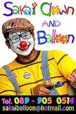 Sakai Clown and Balloon, Tel.0899050514